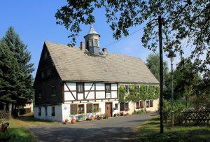 Huthaus der Silbergrube Alte Hoffnung Kleinvoigtsberg