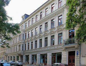 Spamers Hof Leipzig (Verlag Otto Spamer)
