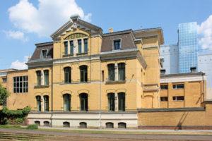 Ehem. Städtisches Elektrizitätswerk Leipzig-Nord (Verwaltungsgebäude und Schalthaus)