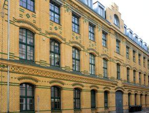 Fabrikgebäude Sternwartenstraße Leipzig (B. G. Teubner, Akademische Verlagsgesellschaft Geest & Portig
