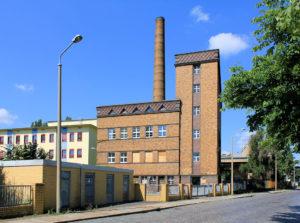 Heizkraftwerk des ehem. Kinderkrankenhauses Reudnitz