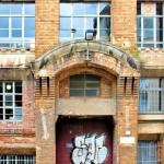 Fa. Junghanns&Kolosche, Firmengebäude, Portal
