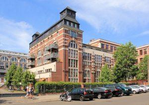 Heizhaus der Buntgarnwerke Plagwitz in Schleußig