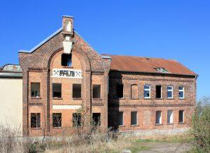 Schachtanlage Paul II Werschen, Schachthaus (Zustand April 2010)