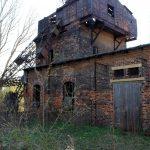 Schachtanlage Paul II Werschen, Förderturm (Zustand April 2010)