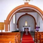 Ev. Pfarrkirche Altenbach, Blick in den Chor