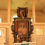 Angern, Ev. Kirche St. Maruritius, Altar