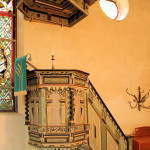 Angern, Ev. Kirche St. Maruritius, Kanzel