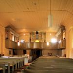 Angern, Ev. Kirche St. Maruritius, Orgelempore