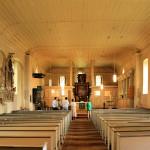 Angern, Ev. Kirche St. Maruritius, Saal