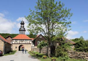 Blankenburg/Harz, Kloster Michaelstein, Torhaus