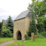 Bockendorf, Torhaus auf dem Friedhof