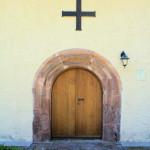 Börtewitz, Ev. Pfarrkirche, Portal
