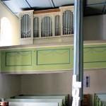 Borna, Ev. Emmauskirche, Orgel