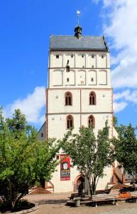 Borna, Turm der Ev. Stadtkirche