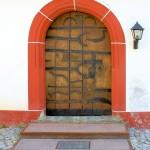 Buchheim, Ev. Pfarrkirche, Pforte