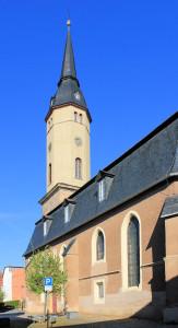 Bürgel, Ev. Pfarrkirche St. Johannis