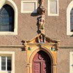 Bürgel, Ev. Pfarrkirche St. Johannis, Portal