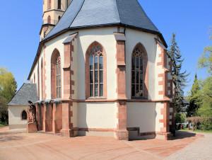 Chor der Ev. Stadtkirche Burgstädt