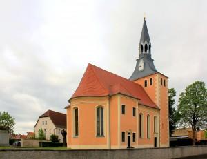 Calbitz, Ev. Pfarrkirche