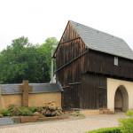 Claußnitz, Ev. Pfarrkirche, Torhaus