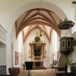 Colditz, Ev. Stadtkirche, Altar