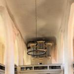 Dommitzsch, Ev. Stadtkirche, Schiff und Orgel