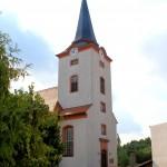 Dreiskau-Muckern, Ev. Pfarrkirche Dreiskau