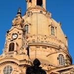 Frauenkirche in Dresden, Lutherdenkmal und Kuppel