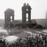 Ruine der Frauenkirche, um 1950