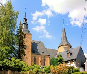 Stiftskirche Ebersdorf, Pfarrkirche (Stiftskirche)