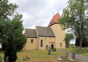 Elsnig, Ev. Pfarrkirche, Nordseite