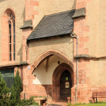 Erlau, Ev. St. Laurentiuskirche, Portal
