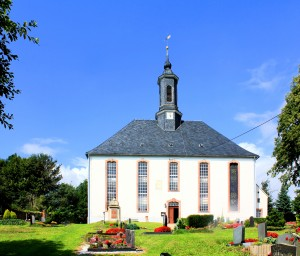 Erlbach, Ev. Pfarrkirche
