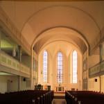 Etzdorf, Ev. Pfarrkirche, Schiff und Chor