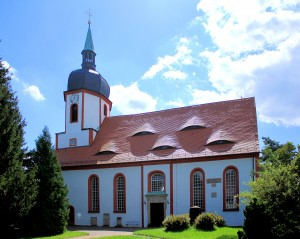 Geöffnet am 4. Juli 2015: Kirche in Falkenhain