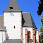 Frankenhain, Ev. Pfarrkirche Oberfrankenhain, Chorturm und Chor