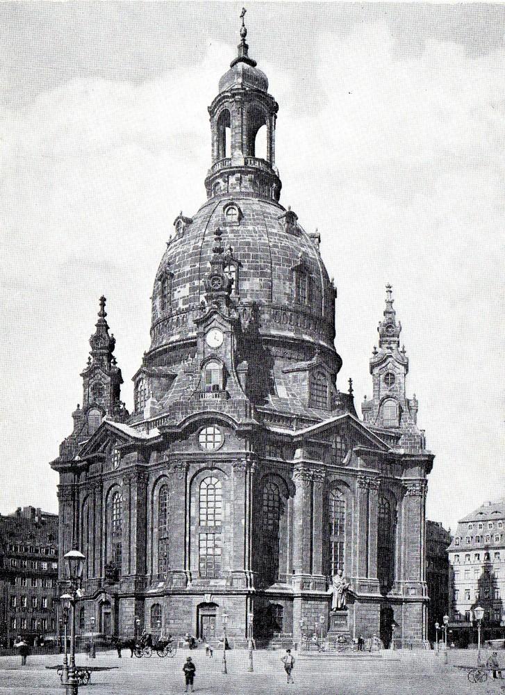 Dresden ev frauenkirche stadt dresden kirchen sachsen stadt dresden - Dresden architektur ...