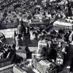 Neumarkt mit Frauenkirche, Luftaufnahme vor 1945