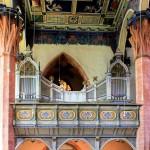 Geithain, Ev. Stadtkirche St. Nikolai, Orgelempore