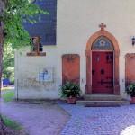 Glasten, Ev. Pfarrkirche, Portal