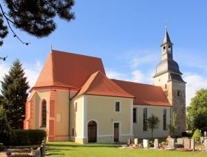 Glesien, Ev. Pfarrkirche