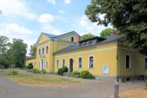 Verwaltungsgebäude Neuer Friedhof Gohlis (Friedhofsamt Gohlis)