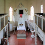 Gorenzen, Ev. Kirche St. Laurentius, Altar