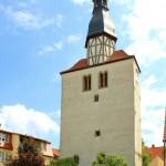 Groitzsch, ehem. Stadtkirche (Stadtturm)