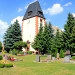 Großbardau, Ev. Pfarrkirche