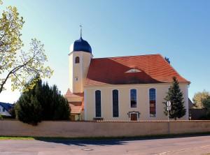 Großdalzig, Ev. Pfarrkirche