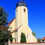 Großdalzig, Ev. Pfarrkirche, Turm