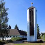 Grünau, Ev. Pauluskirche, Glockenturm