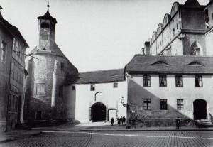 Kapelle Allerheiligen um 1890